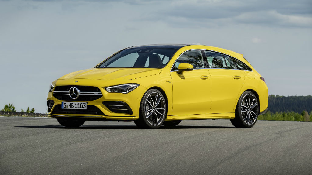 Η νέα AMG CLA 35 Shooting Brake