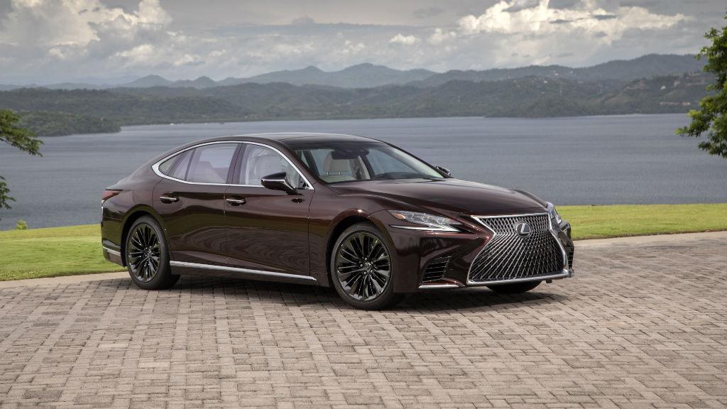 Το νέο Lexus LS 500