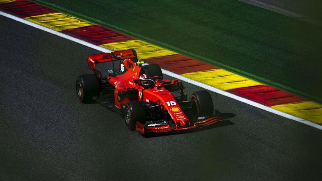 Ο Leclerc poleman στο Spa