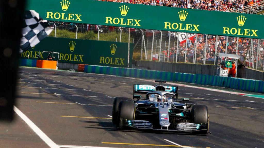 Η στρατηγική έδωσε τη νίκη στον Hamilton στην Ουγγαρία