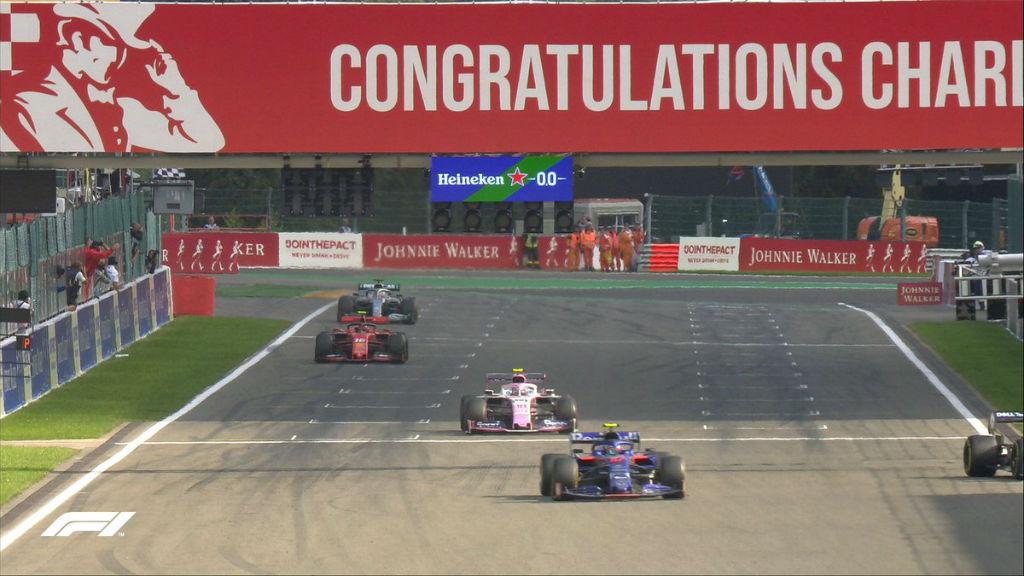 Πρώτη νίκη του Leclerc στην πίστα του Spa