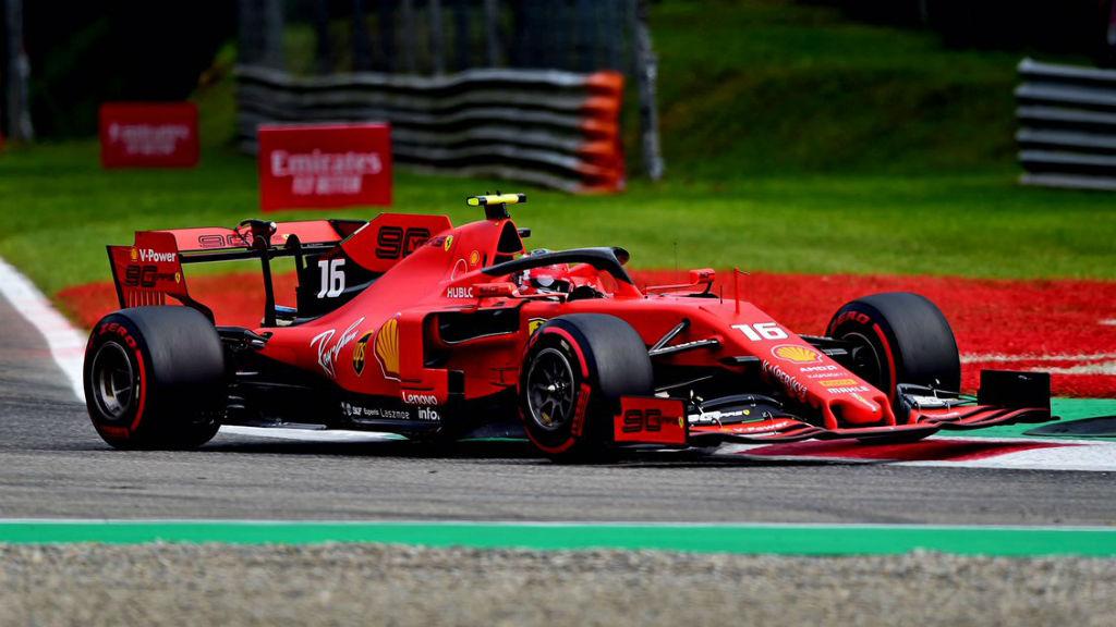Pole Position για τον Leclerc στη Monza