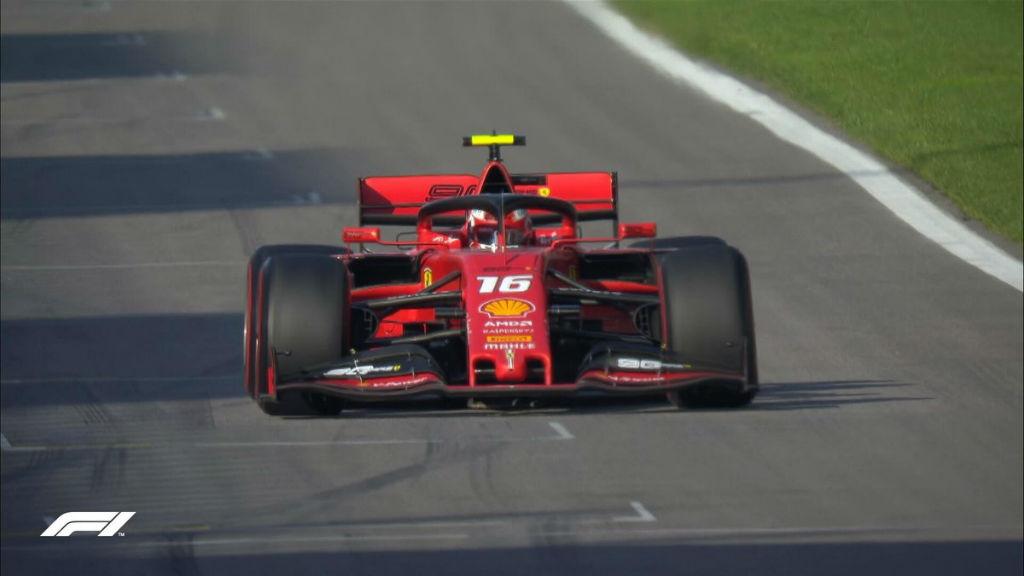 Pole Position για τον Leclerc στη Ρωσία