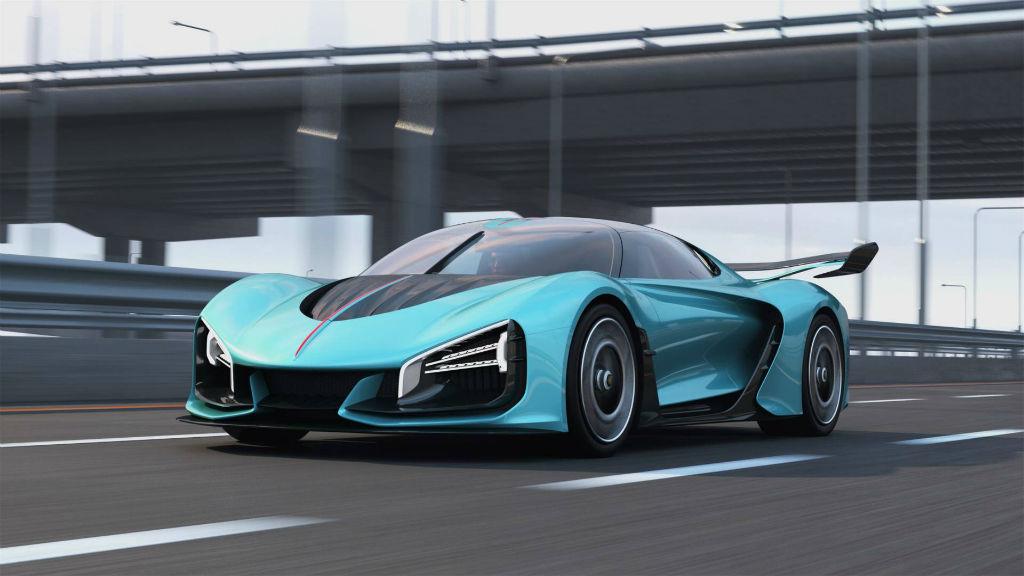 Το πρωτότυπο υβριδικό Super Car από την Hongqi