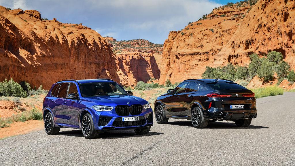 Οι δυνατές BMW X5 M και X6 M