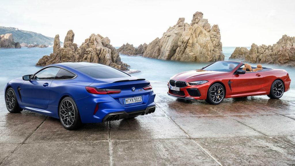 Οι νέες BMW M8 Competition Coupe και  M8 Competition Convertible