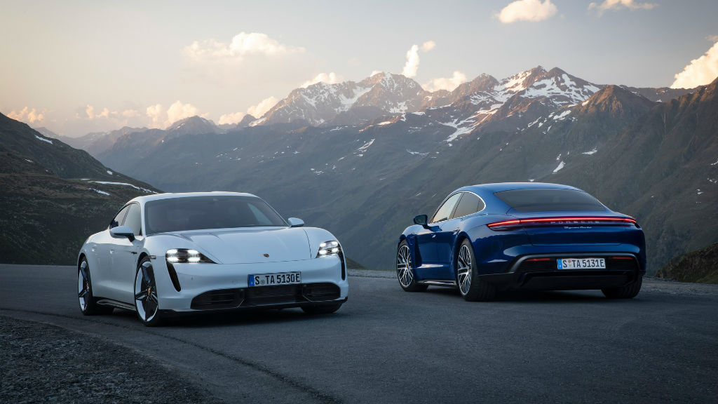 Το ηλεκτρικό μοντέλο της Porsche είναι η Taycan