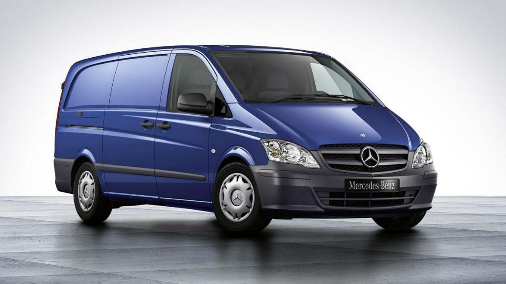 Ανακαλούνται 124 Mercedes-Benz Vito