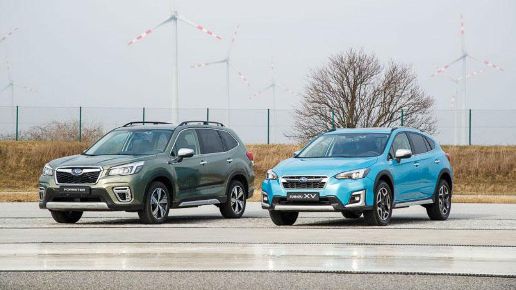 Τα υβριδικά Subaru XV και Forester στη χώρα μας