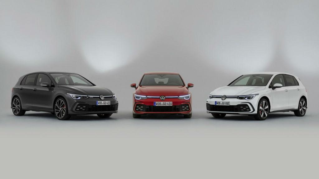 Τα νέα Golf GTI, GTD και GTE