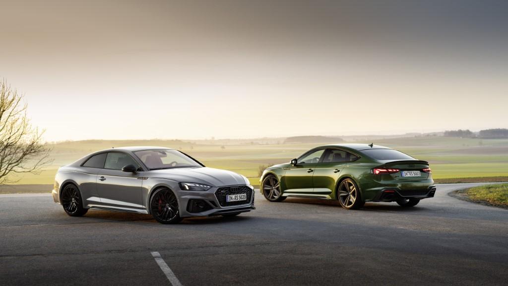 Με νέα εμφάνιση τα RS5 Coupe και RS5 Sportback