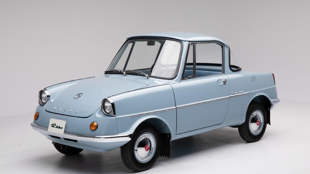 Η ιστορία της Mazda ξεκίνησε με το R360 Coupe