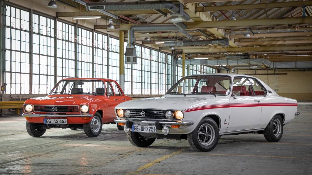 50 χρόνια Opel Ascona και Manta
