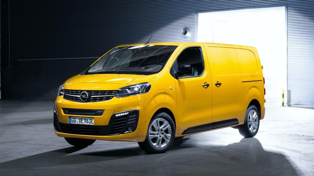 Το ηλεκτρικό Vivaro της Opel