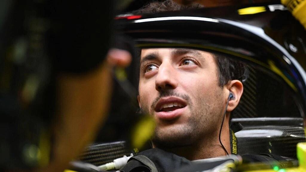 Ο Daniel Ricciardo από το 2021 στη McLaren
