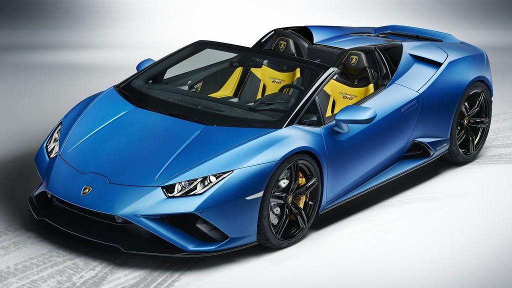 Η νέα πισωκίνητη Lamborghini Huracan EVO Spyder