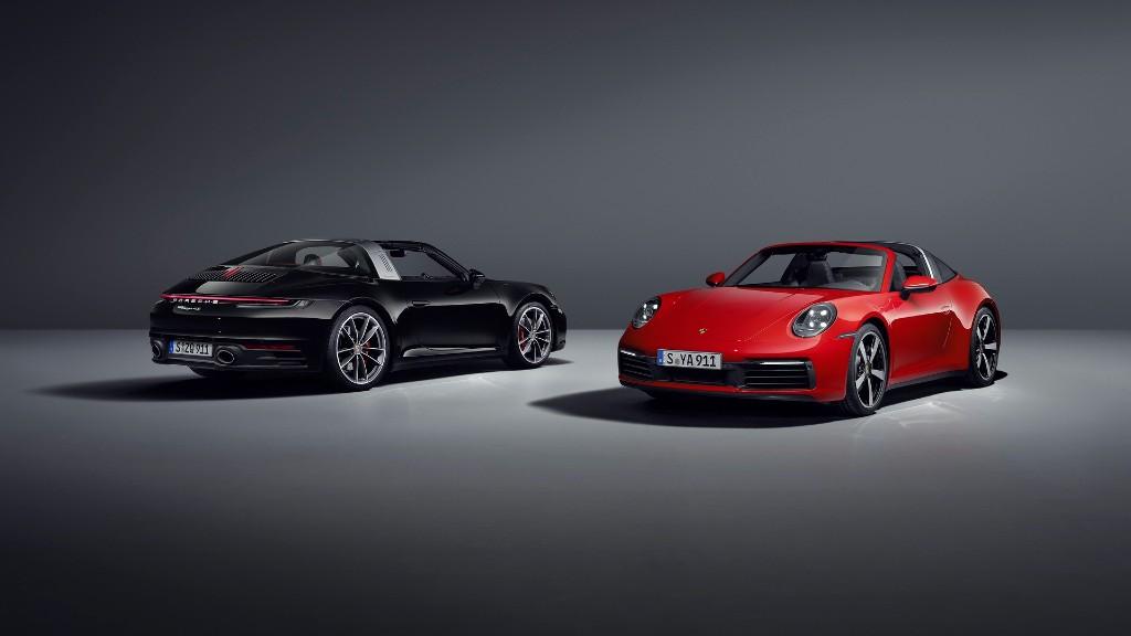 Οι νέες Porsche 911 Targa 4 και 4S