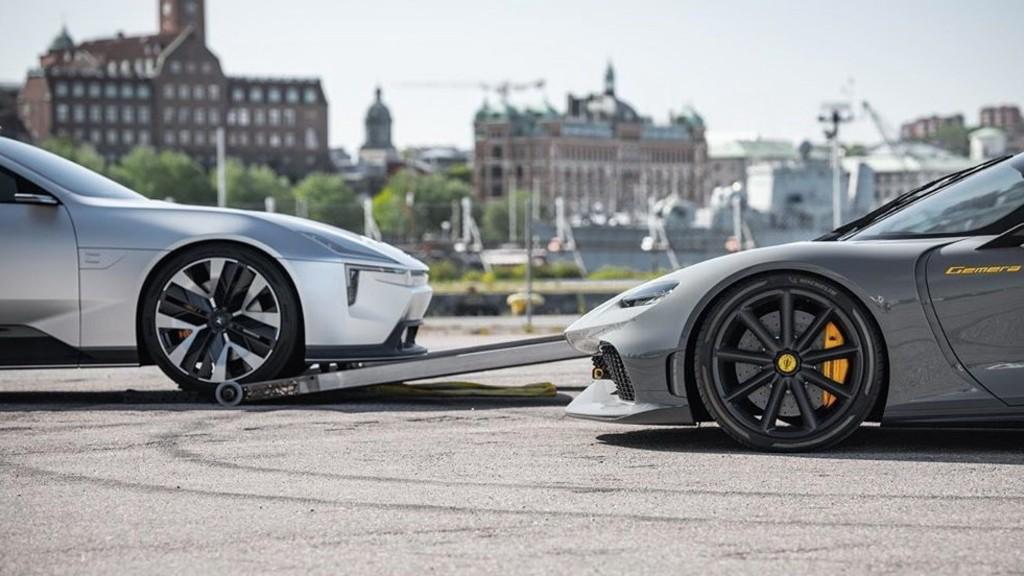 Polestar και Koenigsegg ενώνουν τις δυνάμεις τους