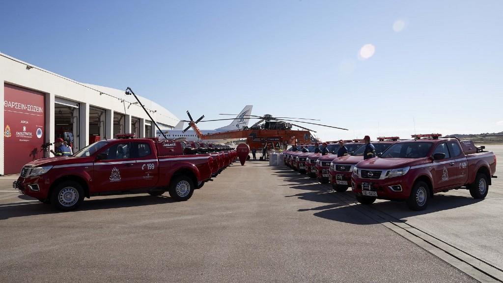 20 νέα οχήματα στο Πυροσβεστικό Σώμα