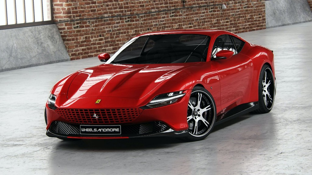 Η Ferrari Roma της Wheelsandmore