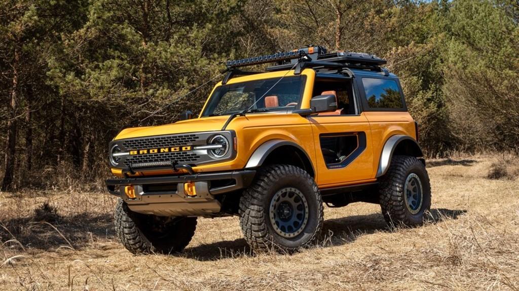 Τα νέα Ford Bronco και Bronco Sport