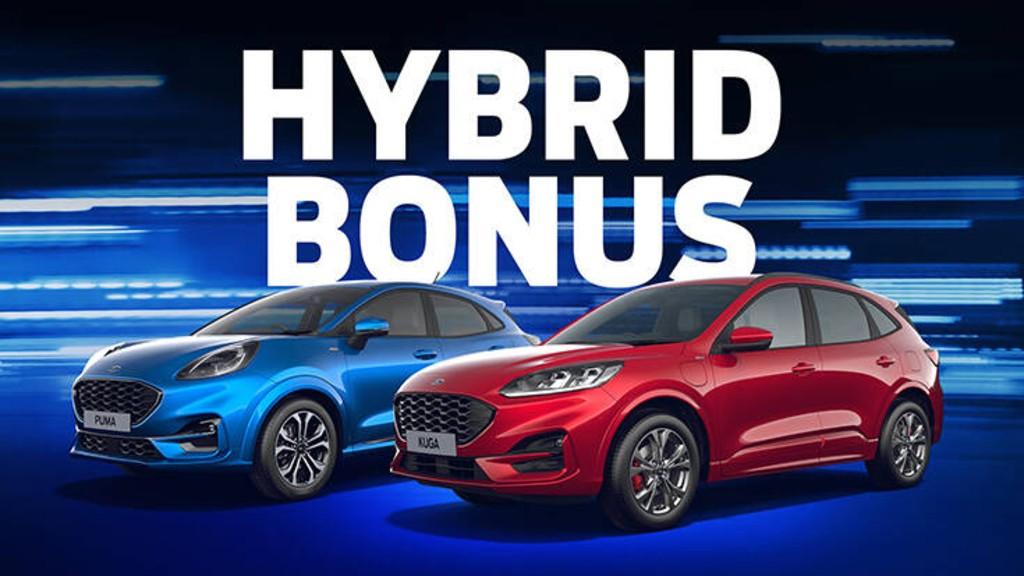 Νέο πρόγραμμα Hybrid Bonus από τη Ford για τα Puma και Kuga