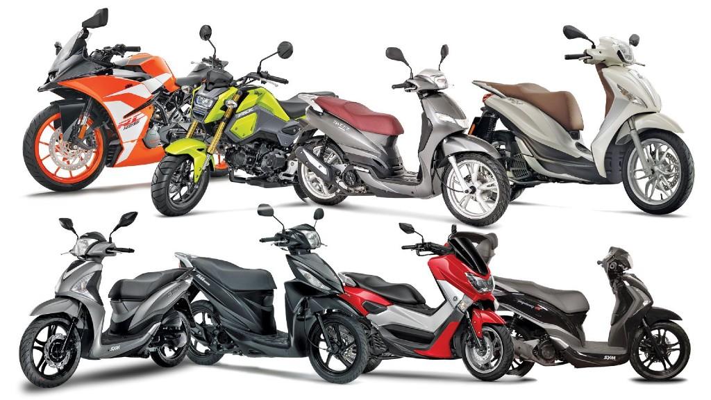 Με δίπλωμα οδήγησης αυτοκινήτου οι μοτοσυκλέτες μέχρι 125 κ.εκ.