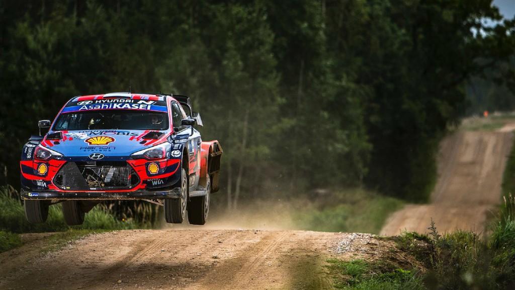 Επανεκκίνηση του WRC με νίκη του Tanak στην Εσθονία