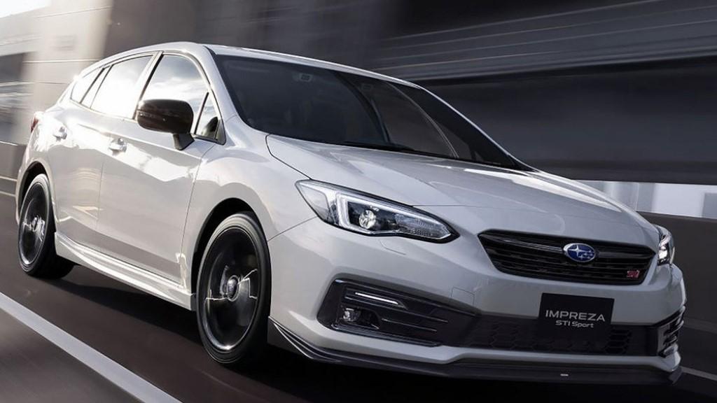 Η STI Sport έκδοση του Subaru Impreza