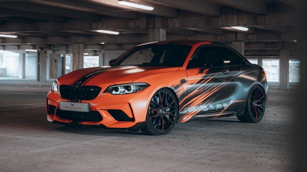 Η BMW M2 Competition της JMS