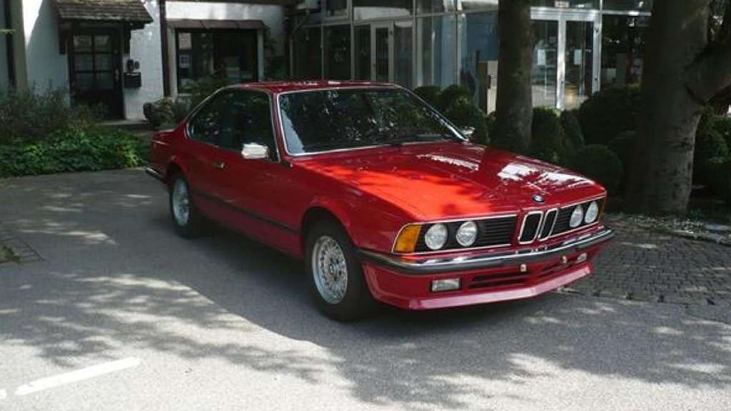 Πωλείται μια BMW 635 CSi του 1985