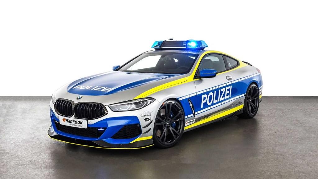 Μια BMW M850i για τη Γερμανική Αστυνομία